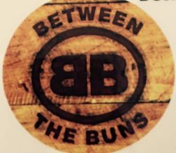 between the buns