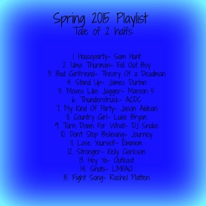 Spring 15 Playlist