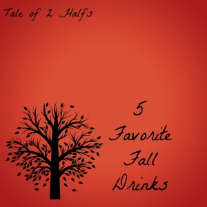 Fall Drinks graphic